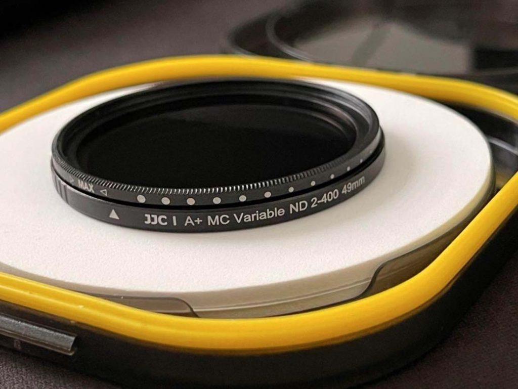 Filtry na aparat fotograficzny do nagrywania wideo kinowy efekt ND filtr