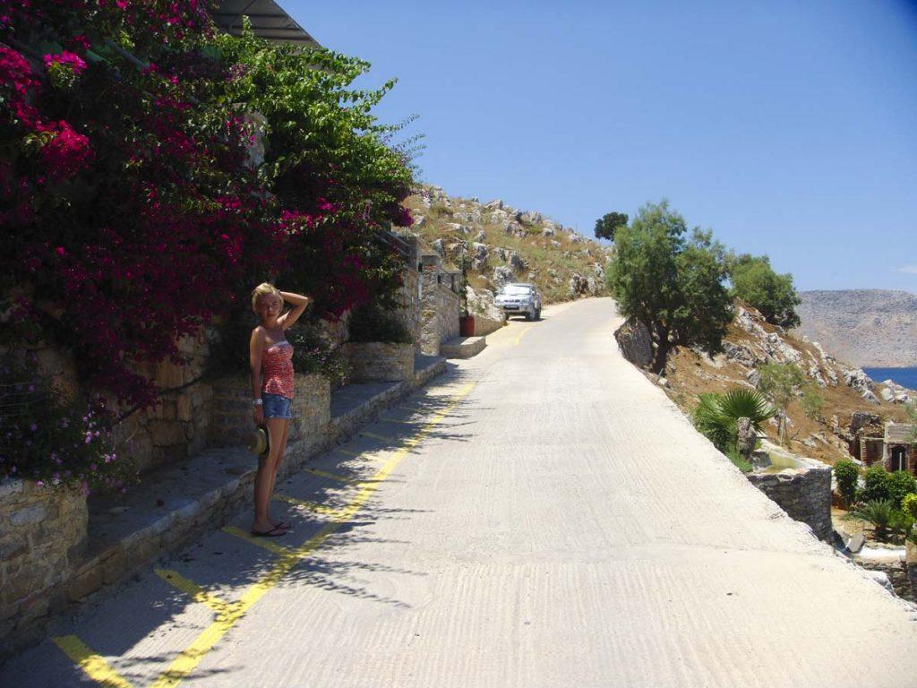 Rejsy z Rodos na wyspę Simi Grecja blog podróżniczy