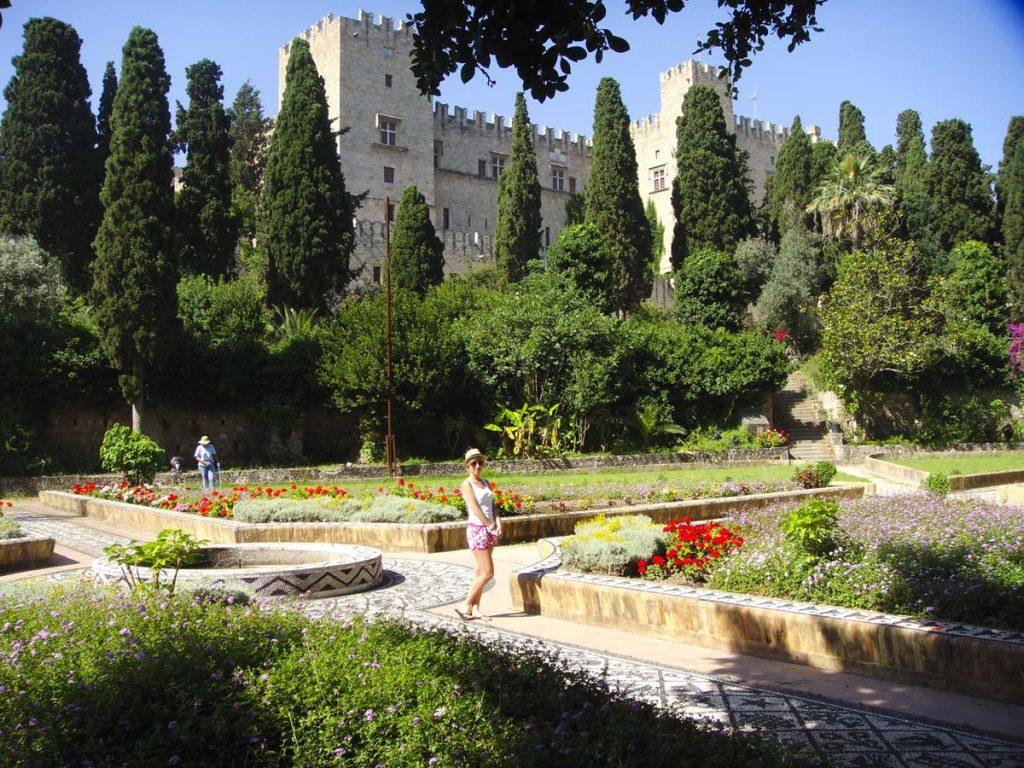 Rodos Grecja wakacje i zwiedzanie atrakcji miasta ogrody