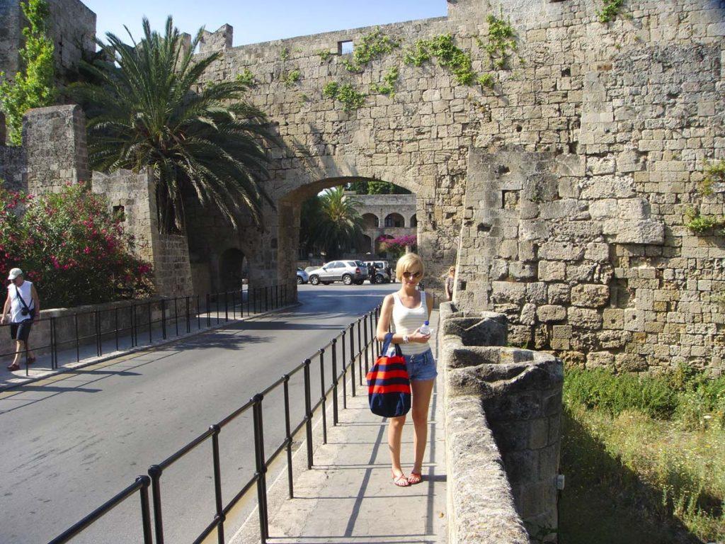 rodos grecja stare miasto rhodes Rodos wakacje
