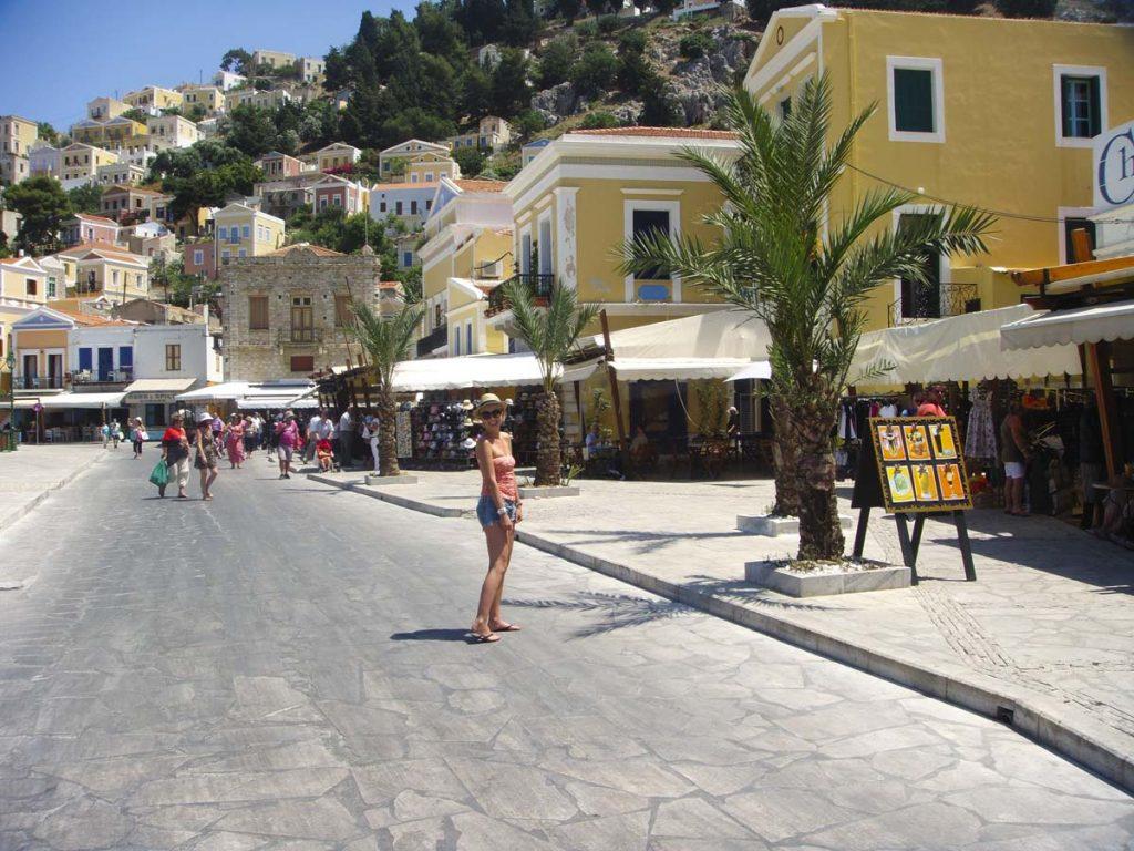 Wyspa Simi rejs z Rodos Grecja
