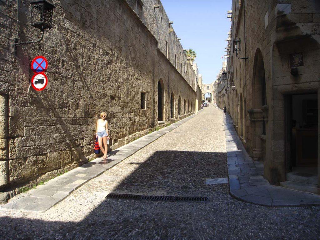stare miasto rodos stolica wyspy grecja 1 Rodos wakacje