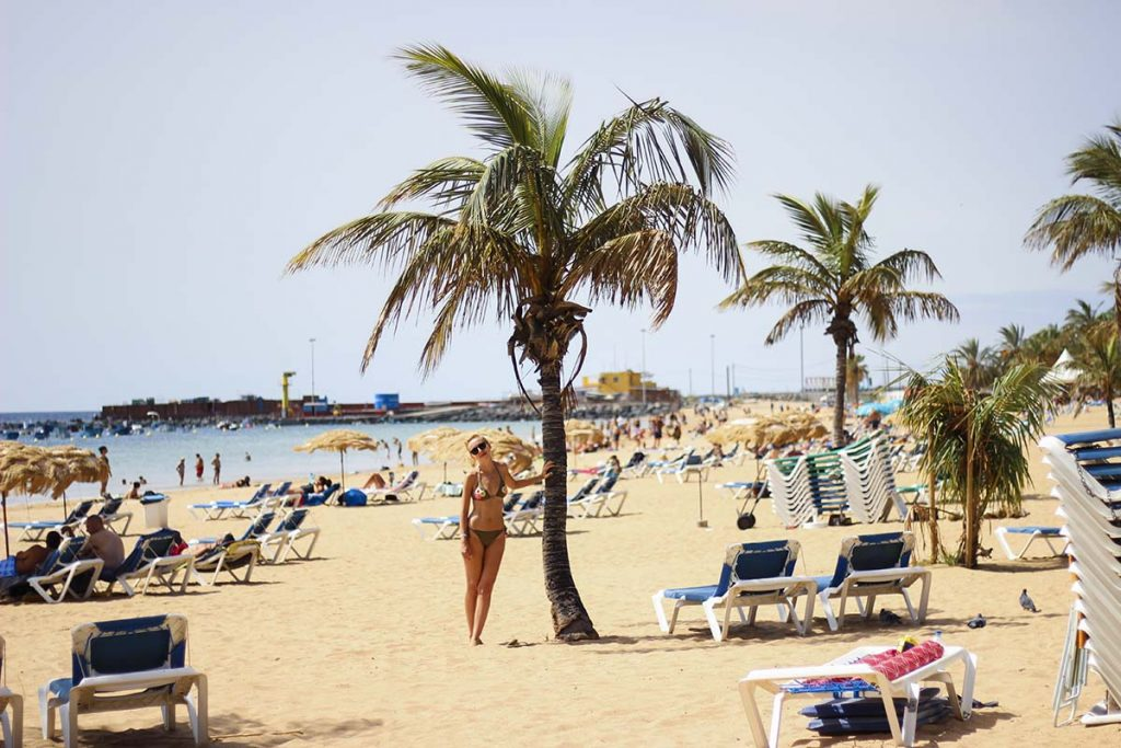 teneryfa blog podrozniczy playa de las teresitas Teneryfa wakacje