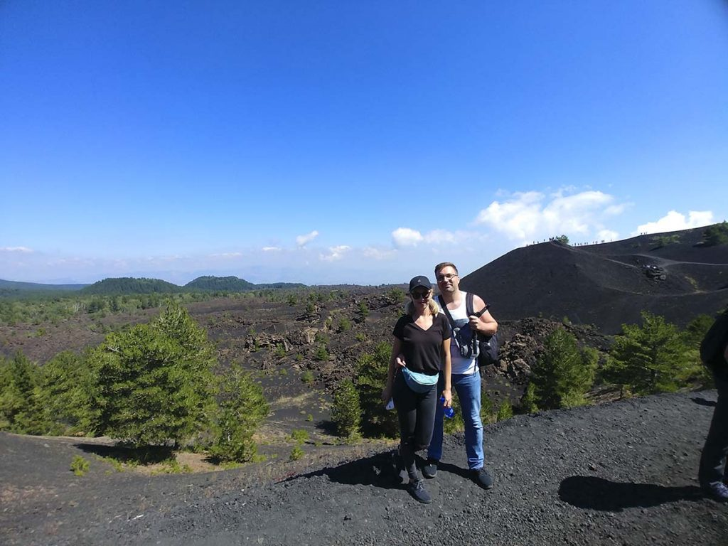wakacje na sycylii wulkan etna wycieczka jeepami wakacje na sycylii