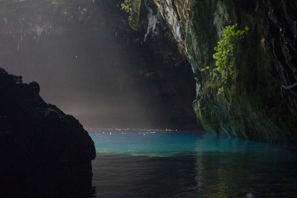 kefalonia grecja jaskinia melissani greckie wyspy
