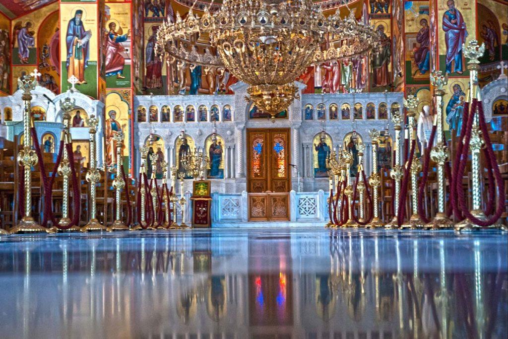 klasztor swietego gerasimosa grecja kefalonia atrakcje wysp greckich greckie wyspy