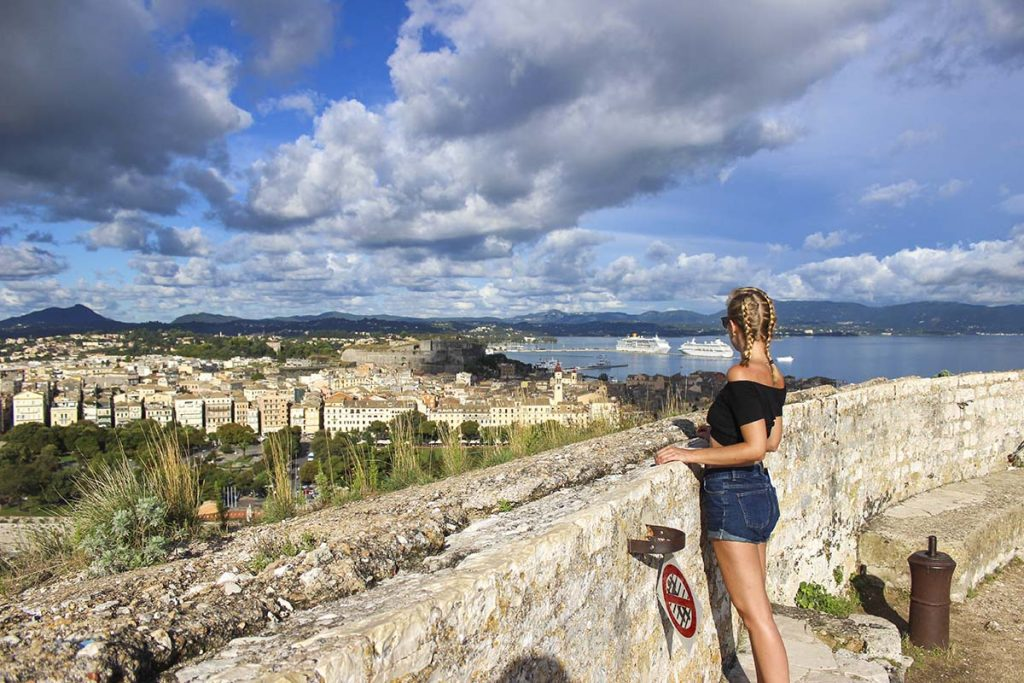 korfu miasto stolica wyspy grecja 1 greckie wyspy