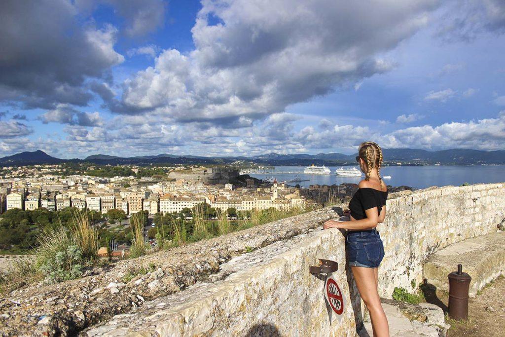 korfu miasto stolica wyspy grecja greckie wyspy