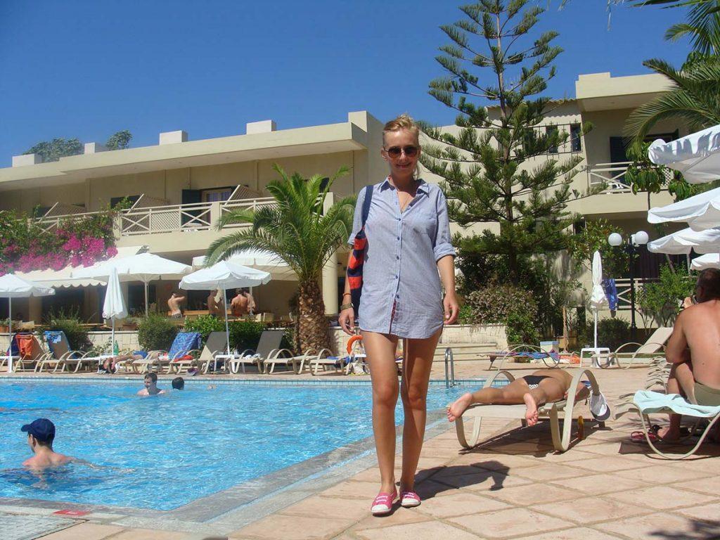 kreta malia hotel greckie wyspy