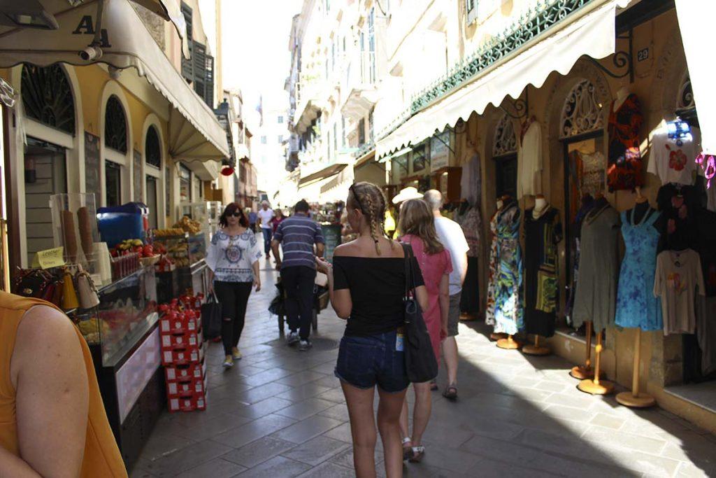 miasto korfu grecja wakacje greckie wyspy