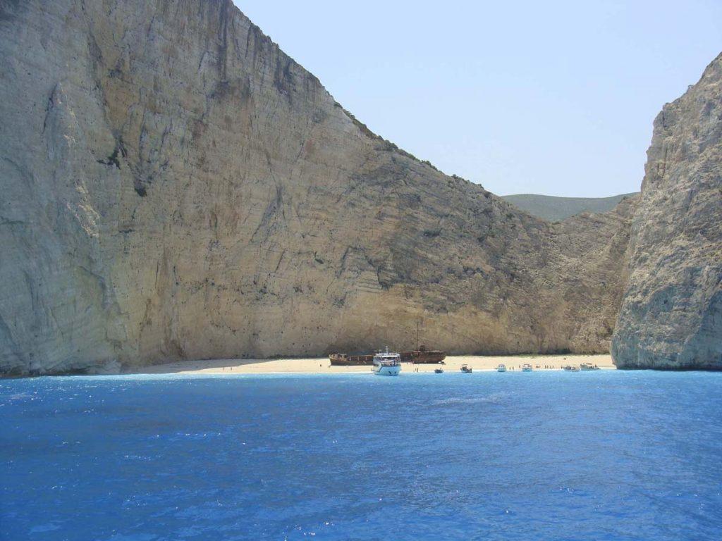navagio plaza wraku grecja zakhyntos zante greckie wyspy