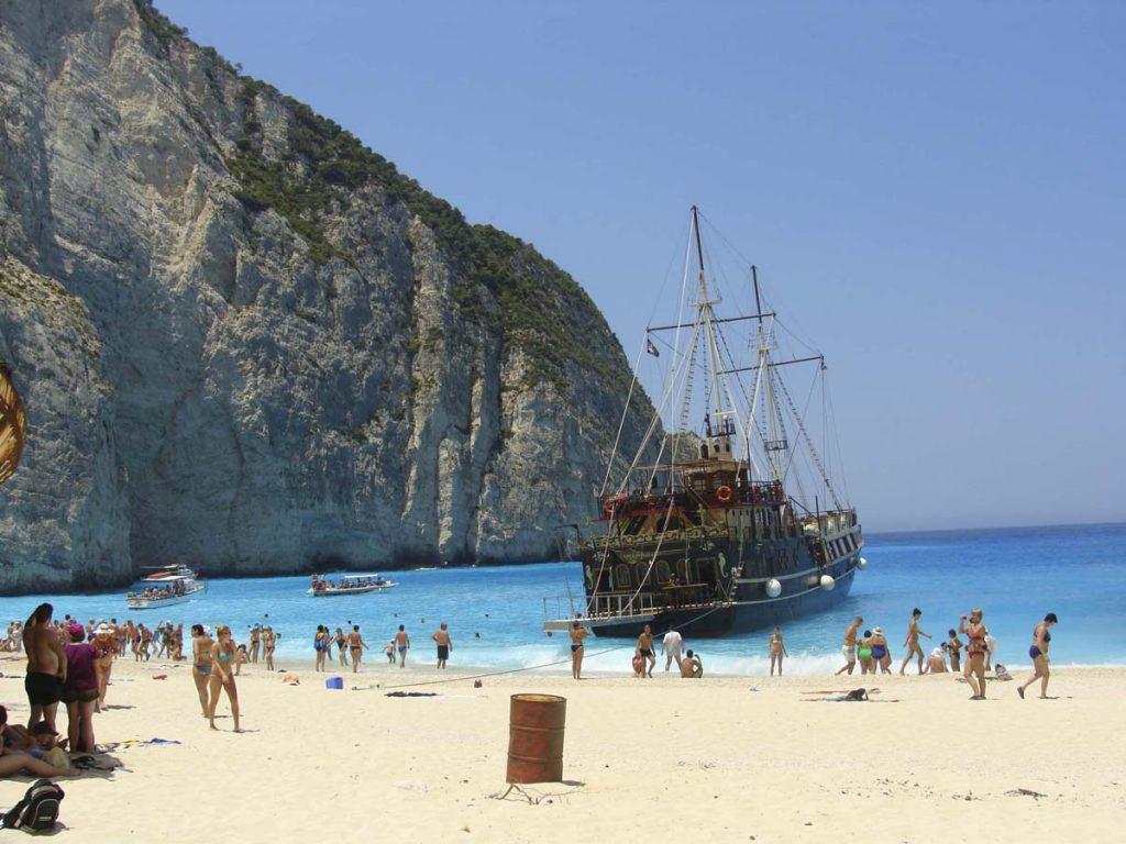 plaza wraku zakynthos grecja wakacje greckie wyspy