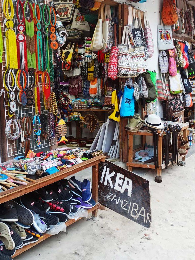 Sklepy Zanzibar ceny w sklepach