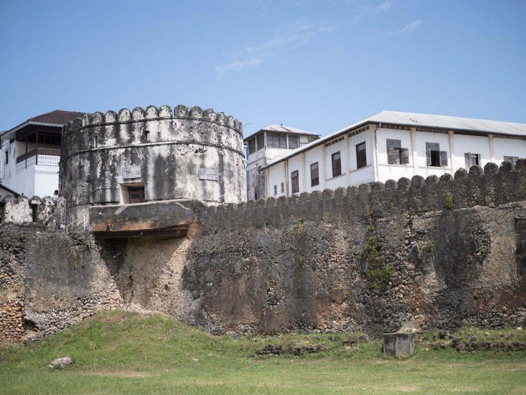 Stone Town Fort Arabski atrakcje miasta