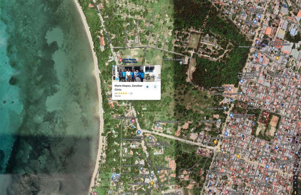 Gdzie zrobić test na Zanzibarze