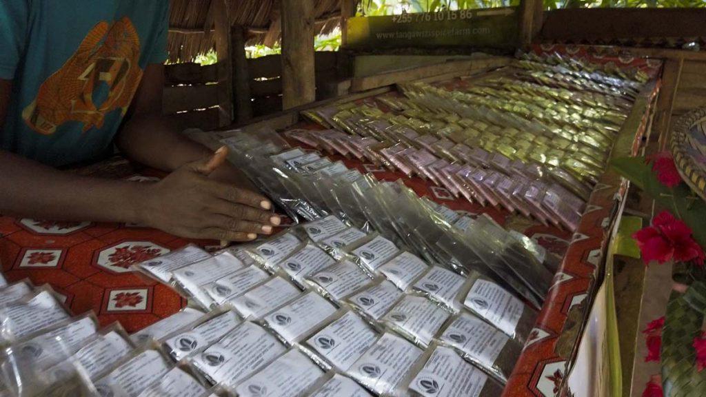 Farma przypraw na Zanzibarze