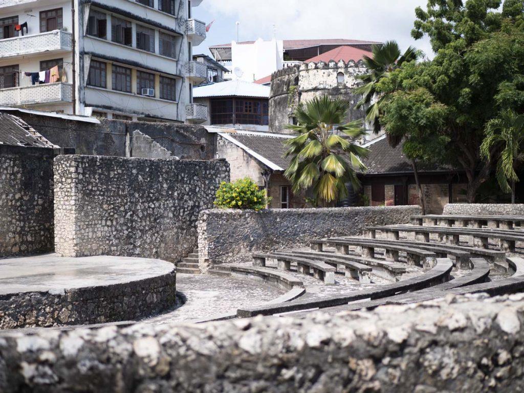 Fort Portugalski Zanzibar Stone Town atrakcje miasta co warto zobaczyć