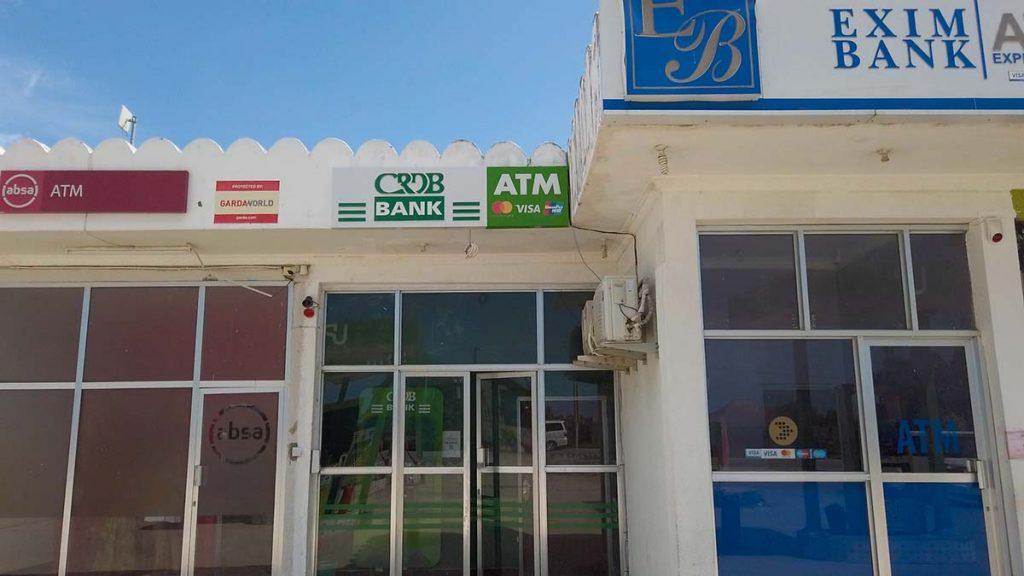 Bankomaty zanzibar Nungwi najmniejsza prowizja