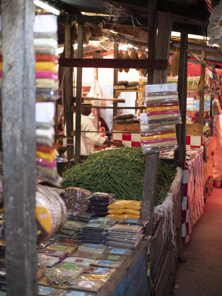 Przyprawy w Stone Town Zanzibar targowisko Darajani Market