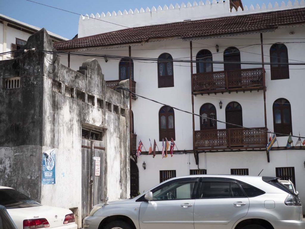 zanzibar stone town architektura budynki zanzibar stone town