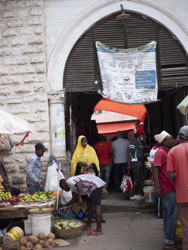 zanzibar stone town darajani market targ zanzibar stone town