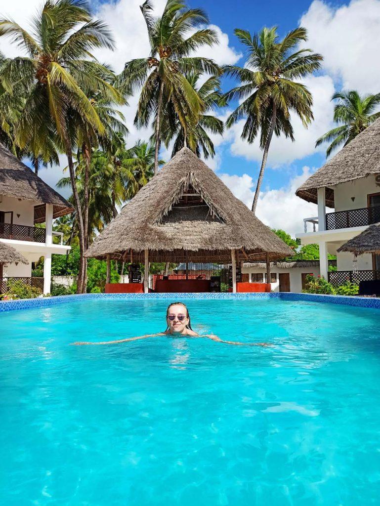 Zanzibar Jambiani hotel Kupaga Villas ceny i koszty zakwaterowania