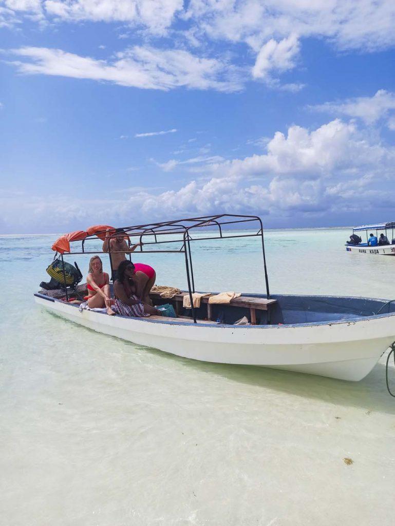 zanzibar atrakcje turystyczne sandbank wodne wyprawy Zanzibar atrakcje