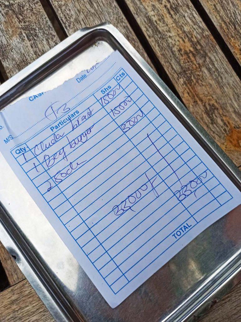 zanzibar ceny jedzenia restauracje Zanzibar ceny
