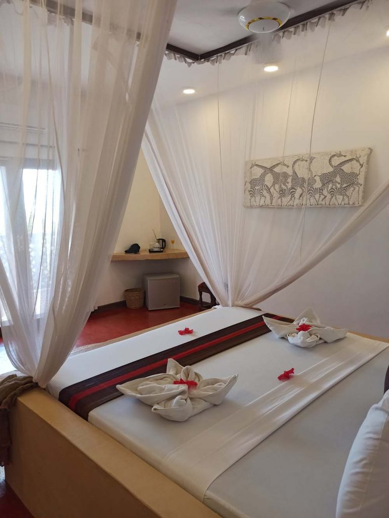 zanzibar jambiani hotel kupaga Zanzibar ceny