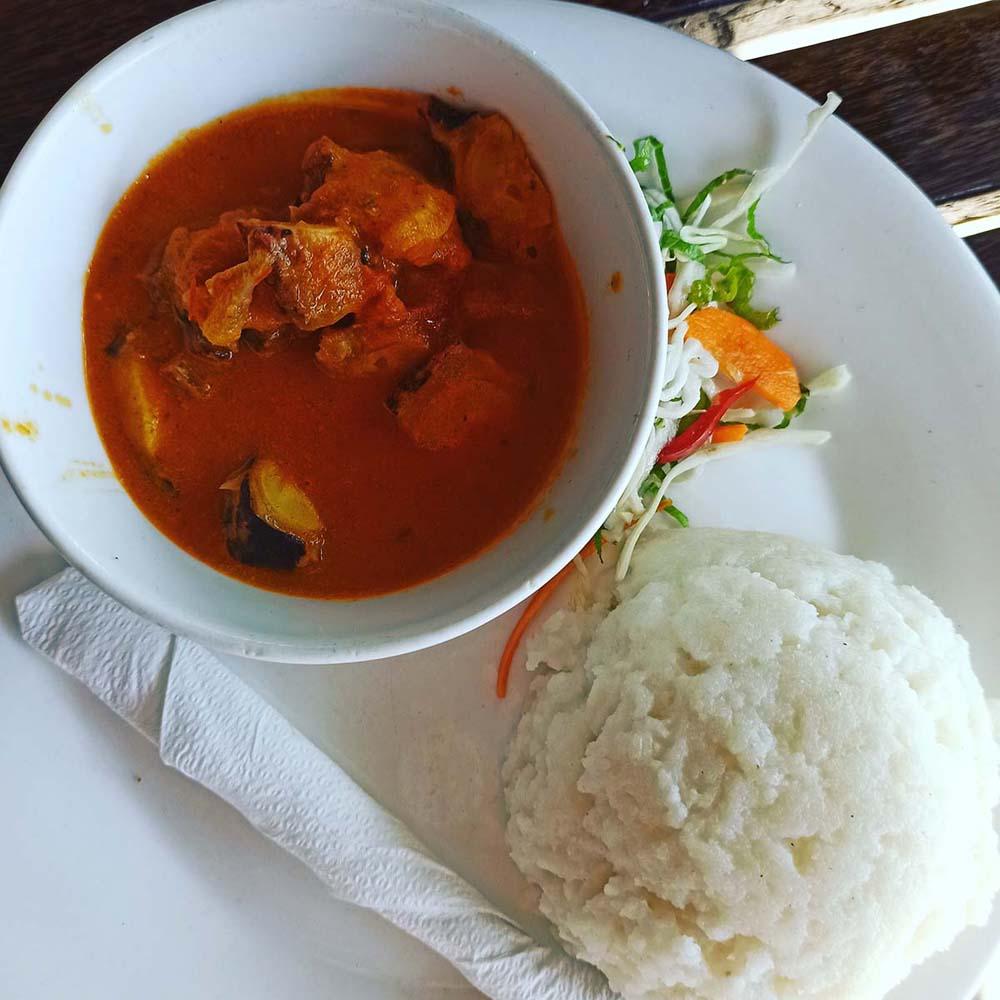 zanzibar jedzenie w restauracjach ceny ugali z sosem Zanzibar ceny