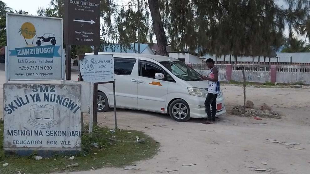 Zanzibar ile kosztuje taksówka