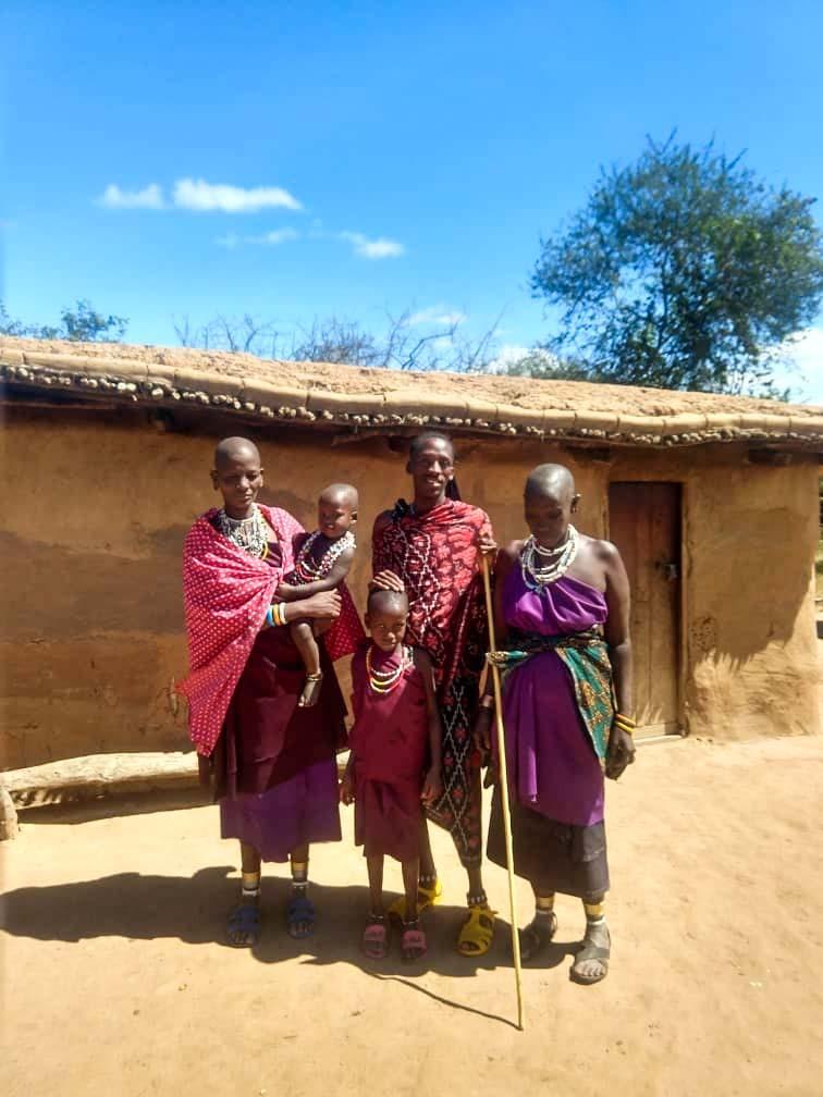 afryka wioska masajow tanzania kilimajaro Masaj