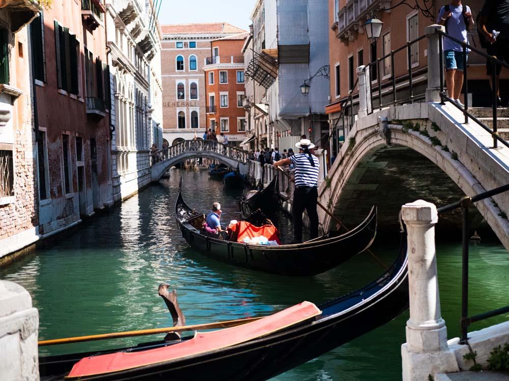 Ile kosztuje gondola w Wenecji