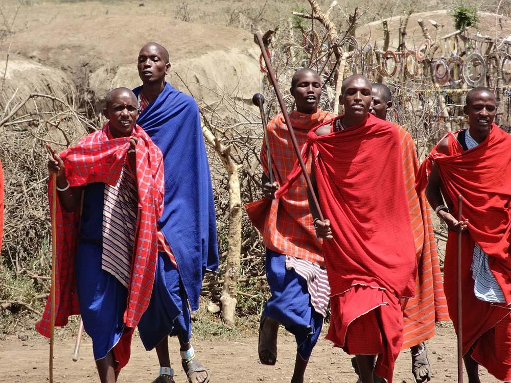 masajowie kim sa Masaj
