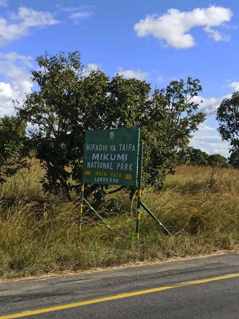 tanzania park narodowy mikumi safari safari w Tanzanii