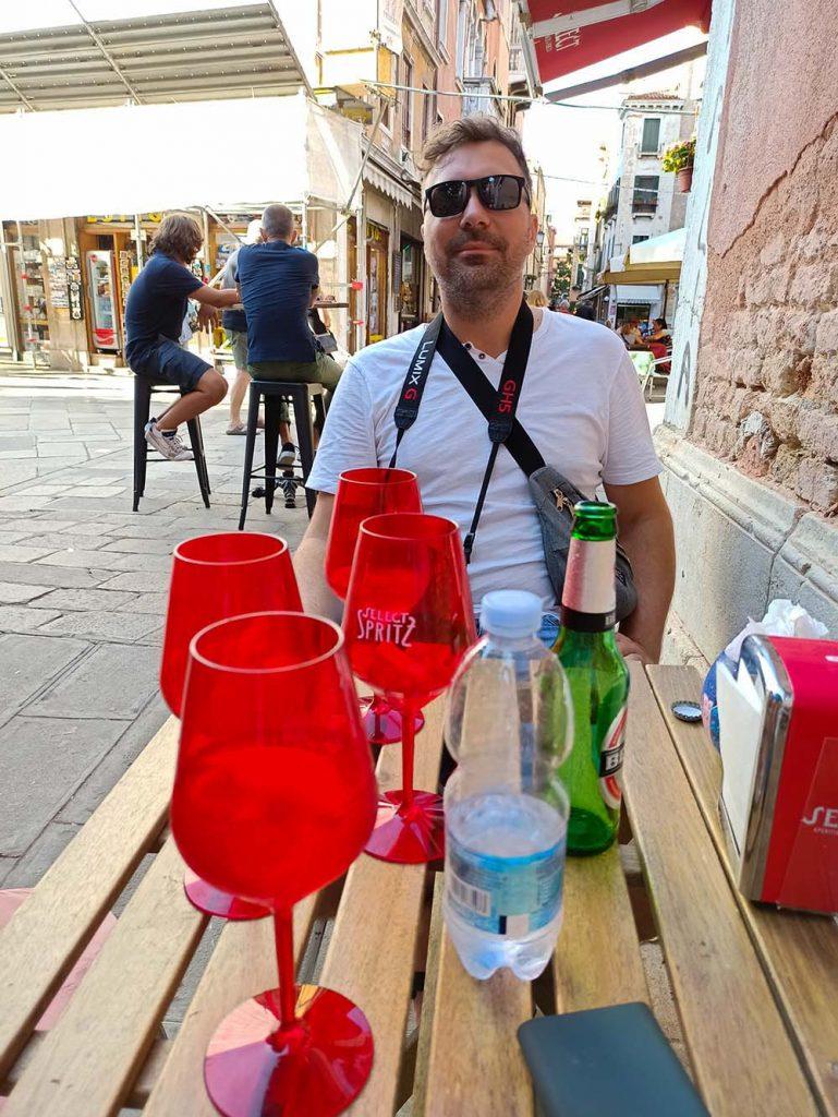 wenecja ceny drinkow piwa bary Wenecja