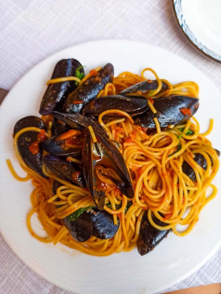 wenecja ceny jedzenia w restauracjach muszle pasta Wenecja
