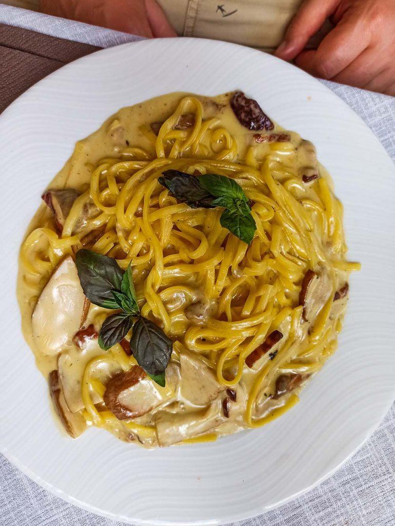 wenecja ceny makaronow porcini pasta Wenecja