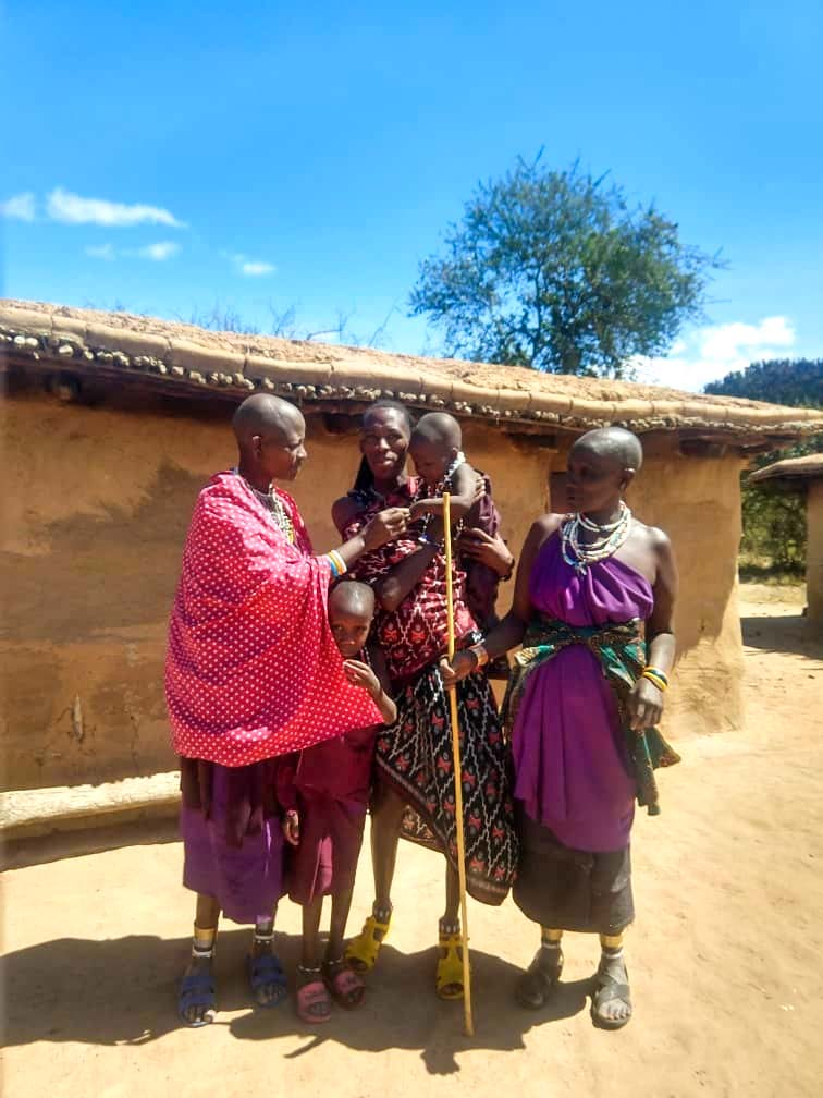wioska masajow afryka tanzania Masaj